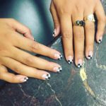 Latest french tip nail art designs