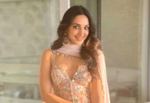 Kiara Advani in Arpita Mehra Outfit - Latest Look - Indian Ethnic - Blush pink outfit