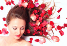 Rose water benefits for hair and how to use it for hair growth, dandruff, and silky smooth hair - Major Mag